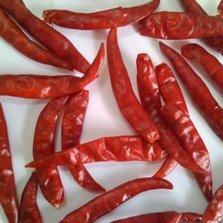 Teja Chilli - S17 Teja dry red Chilli from Guntur India